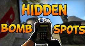 bomb spots